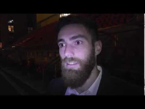 Clip of Romain Vincelot post Sheffield United interview
