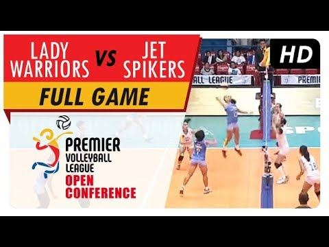 Lady Warriors vs. Jet Spikers | WV Full Game | 5th Set | PVL Open Conference | August 9, 2017