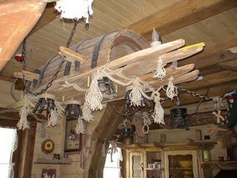 Внутренний декор деревянных домов