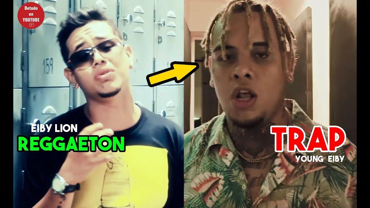 Young Eiby - TRAP Y REGGAETON la evolucion de Eiby Lion   Vídeo 2018