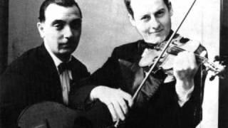 Django Reinhardt & Stephane Grappelli Minor Swing