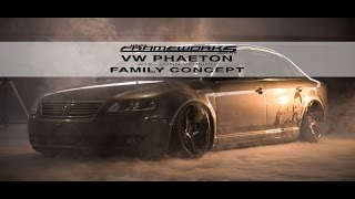 PHAETON W12 LONG VERSION FAMILY CONCEPT