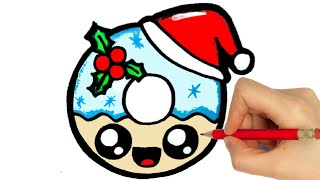 HOW TO DRAW A CHRISTMAS CANDY