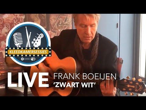 Kleedkamersessie Frank Boeijen - 'Zwart Wit'