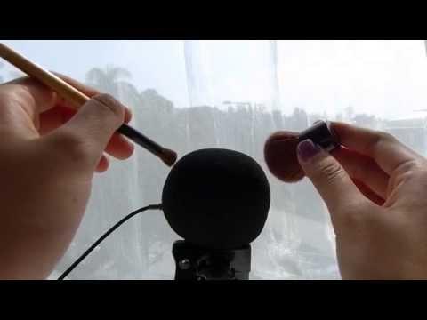ASMR Triggers: *-* INTENSE Microphone Scratching & Brushing *-* [Wind Guard, No Talking]