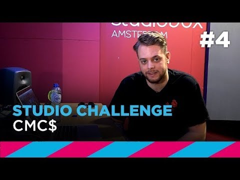 Studio Challenge #4: CMC$ creates track in 1 hour | SLAM!
