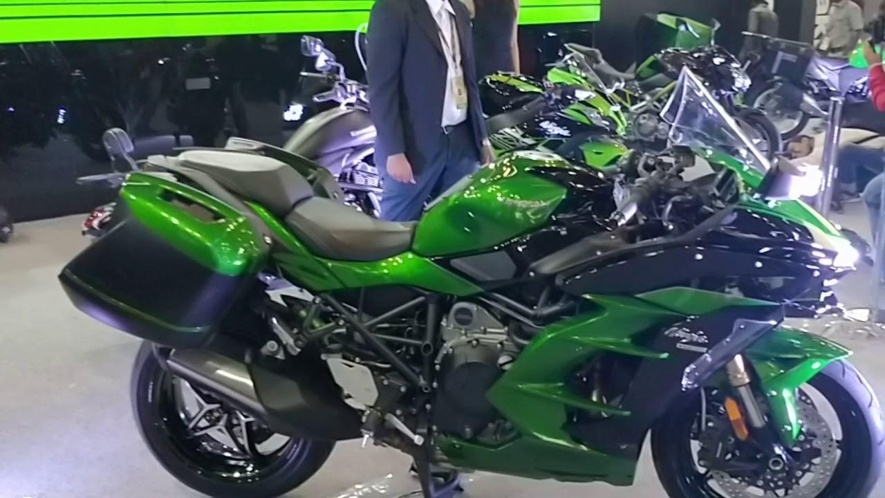 Kawasaki Ninja H2 Sx Se Sports Tourer Specs And Features Auto Expo 2018 Shotononeplus