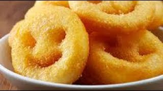 Home made smileys ready in 5 minutes.| Quick 5 minutes snack