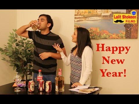 Happy New Year Desi Style -   Lalit Shokeen Comedy  