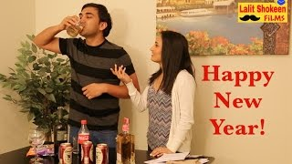 Happy New Year Desi Style - | Lalit Shokeen Comedy |