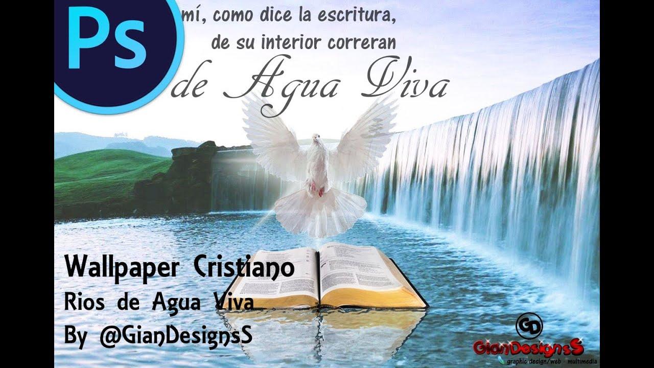 Tutotial Photoshop Wallpaper Cristiano Rios De Agua Viva By