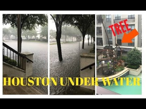 Houston is flooded -- and the water is still rising