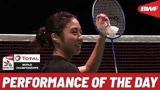 Play of the Day | TOTAL BWF World Championships 2019 Round of 32 | BWF 2019
