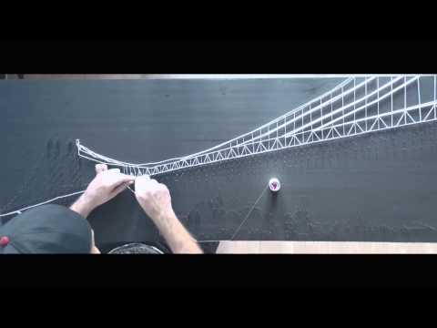making of string art new york