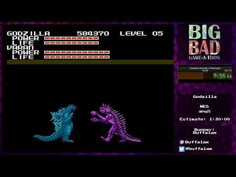 Big Bad Game-a-thon 2017 - Godzilla by Buffalax