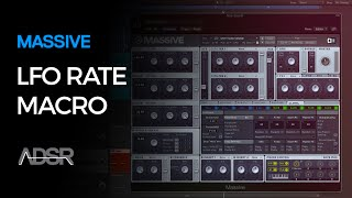 LFO Rate Macro in Massive