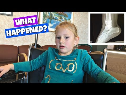 WHAT HAPPENED AT SCHOOL? GETTING AN X-RAY VLOG