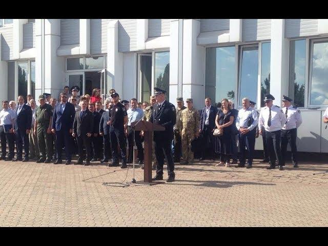 Офіційні урочистості до Дня Національної поліції в Маріуполі