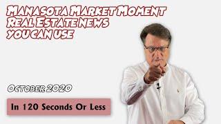 Manasota Market Moment - October 2020
