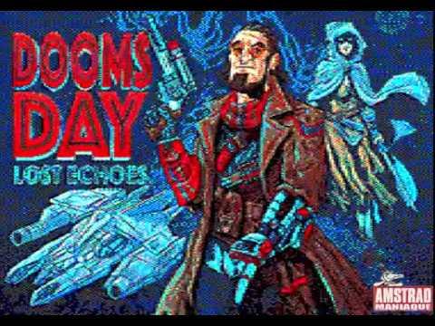 [Amstrad CPC] Doomsday Lost Echoes - Longplay