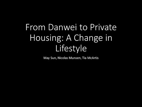 From Danwei to Private Housing