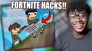 FORTNITE HACKS IN REAL LIFE! | Serv1ce: DUO FORTNITE ADVENTURE Reaction!
