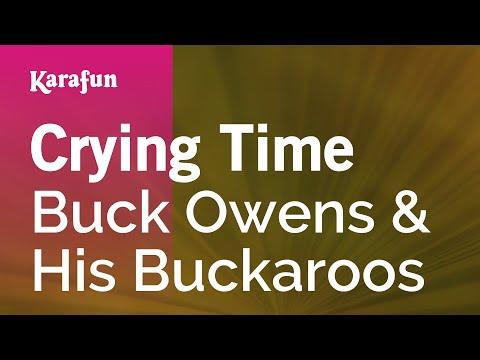 Karaoke Crying Time - Buck Owens *