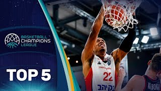 Top 5 Plays - Wednesday - Gameday 6 - Basketball Champions League 2018-19