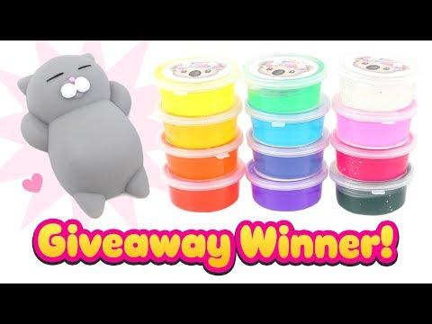 🐨 Slime & Squishy Giveaway WINNER!! 🐨