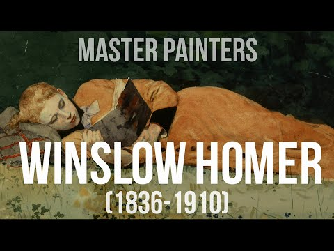 Winslow Homer (1836-1910) A Collection Of Paintings 4K