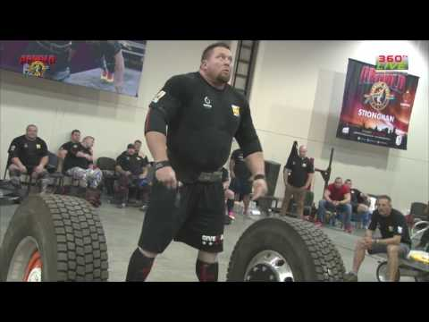 JERRY PRITCHETT 440KG DEADLIFT ACA 2017 STRONGMAN