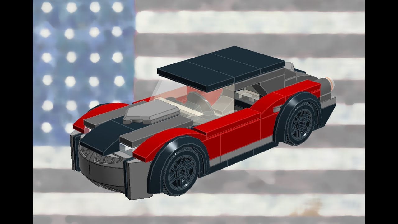 lego muscle car how to build tutorial youtube. Black Bedroom Furniture Sets. Home Design Ideas