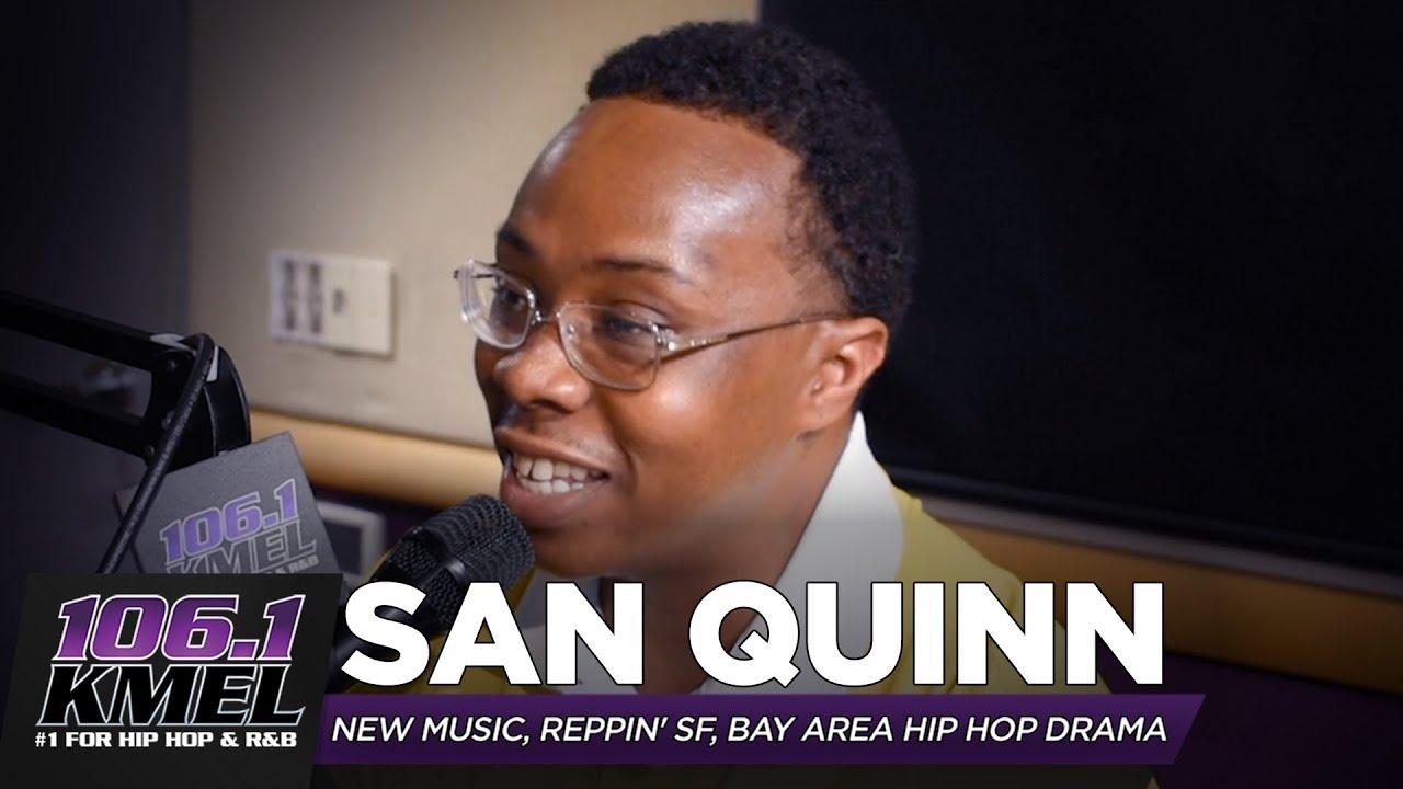 San Quinn talks New Music, Reppin SF + Reacts to Bay Area Hip Hop Drama