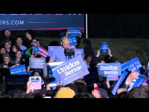 Residente Introduces Bernie in the Bronx | Bernie Sanders