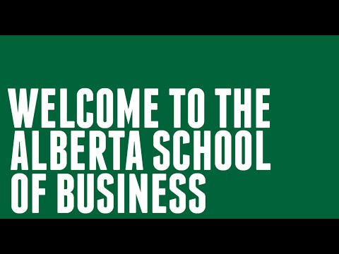 Alberta School of Business Orientation 2014