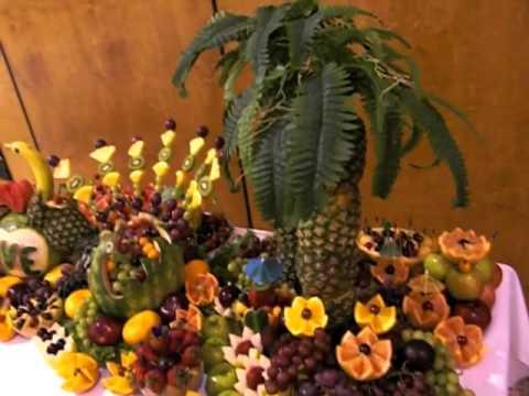 Fruit Carving Display (Wedding )