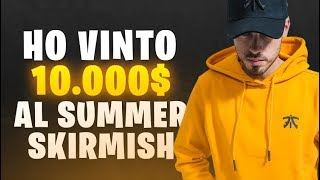 HO VINTO 10.000$ AL FORTNITE SUMMER SKIRMISH! | FORTNITE ITA