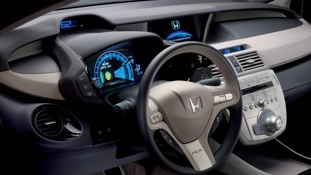 Honda Element Concept >> Honda FCX Clarity Interior - YouTube