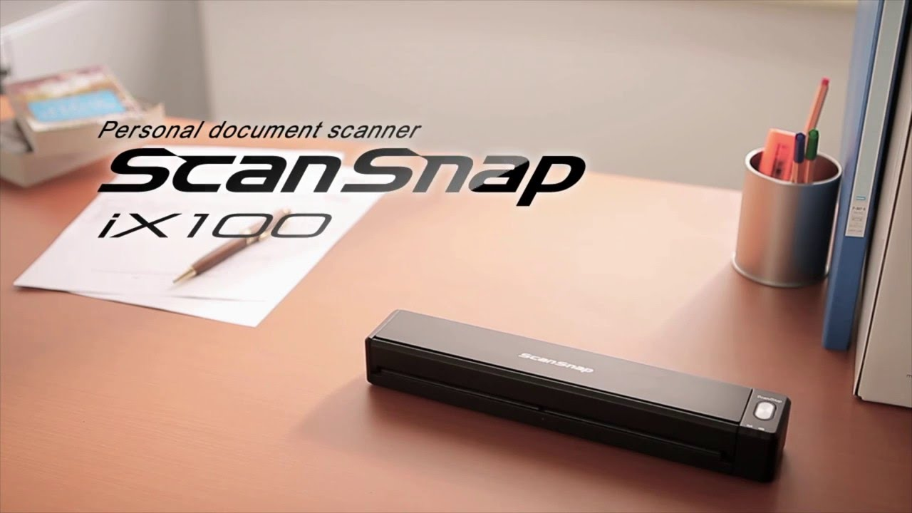 ScanSnap iX100 for Business - YouTube