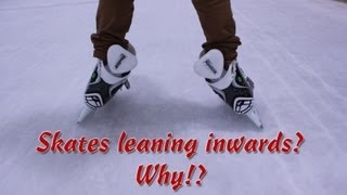 Repeat youtube video How Do I Keep My Ankles Straight When I Skate - Why Do My Ankles Lean Inwards Ice Hockey Skates