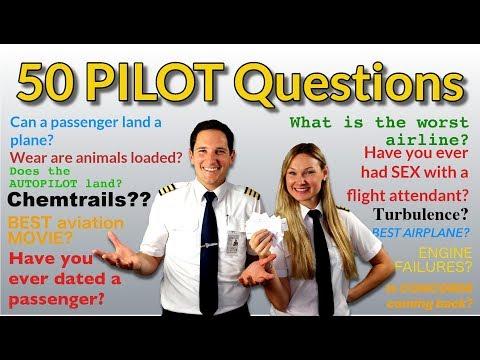 PILOTS answer 50 MOST googled PASSENGER QUESTIONS! Captain Joe + Dutchpilotgirl