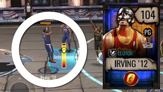 104 GOLDEN TICKET MASKED KYRIE IRVING GAMEPLAY IN NBA LIVE MOBILE 20!!!