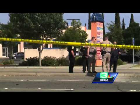 Fight after funeral leads to gunfire, car crash in South Sacramento
