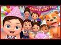 Happy Birthday song ~ Banana Cartoon
