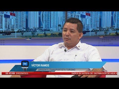 Entrevista a Víctor Ramos, dirigente trasnportista de turismo