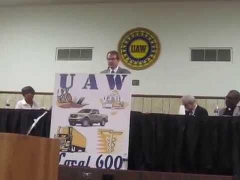 A Celebration for the Life of General Gordon Baker, Jr. - (12/29) - Bob King, UAW President