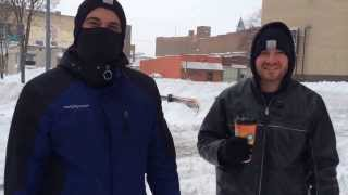 Toledo Snowmageddon of 2014 - Two Guys