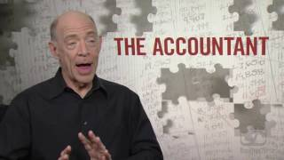 J. K.  Simmons on THE ACCOUNTANT