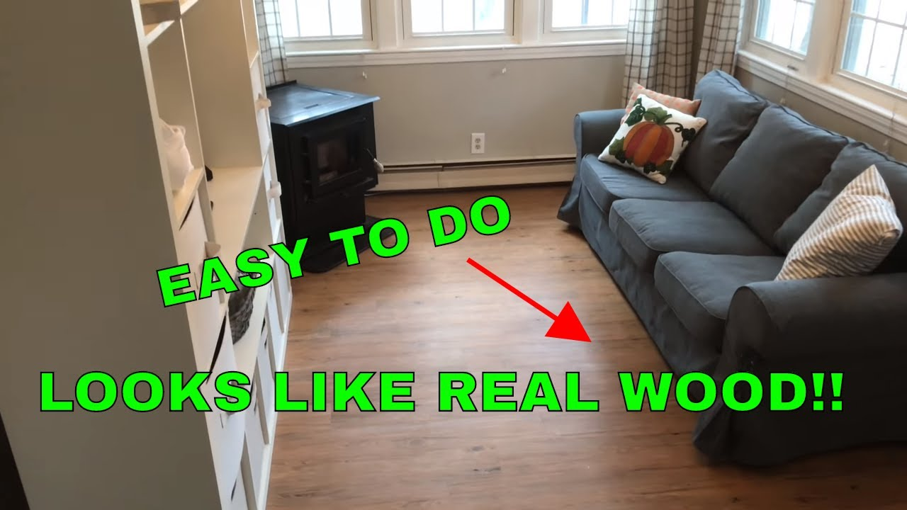 How to install floating vinyl floor