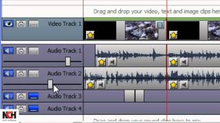 VideoPad Video Editing Software | Adding Audio to Your Movie